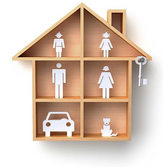 Forskellen mellem indboforsikringen og husforsikringen