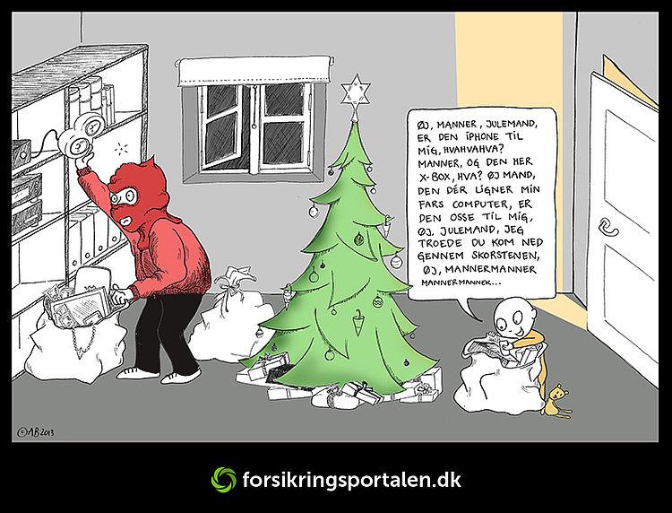 Hvem får du besøg af i juletiden? Forsikringsportalen.dk